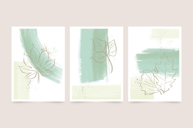 Watercolor cover collection