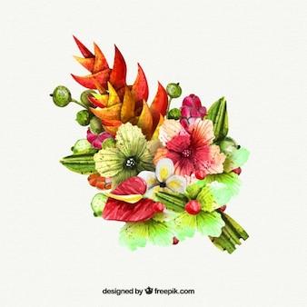 Acquerello carino bouquet