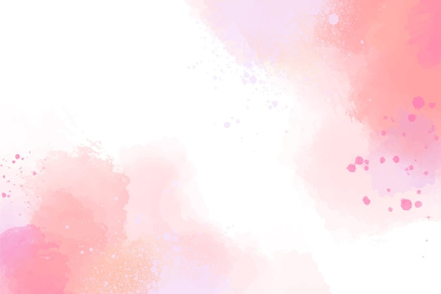 Watercolor design pastel background