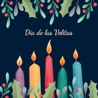水彩ディアデラスベリタスのお祝い