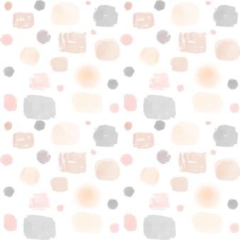 Watercolor dotty pattern