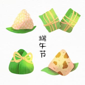 수채화 용 보트 컬렉션