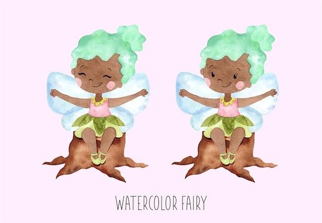 水彩の妖精セット