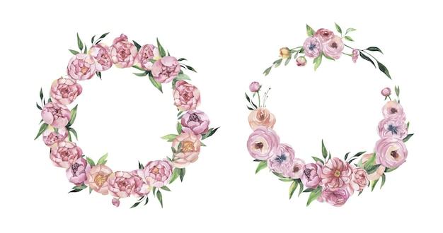 Акварель цветочные композиции