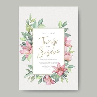 Акварель цветочные свадебные открытки