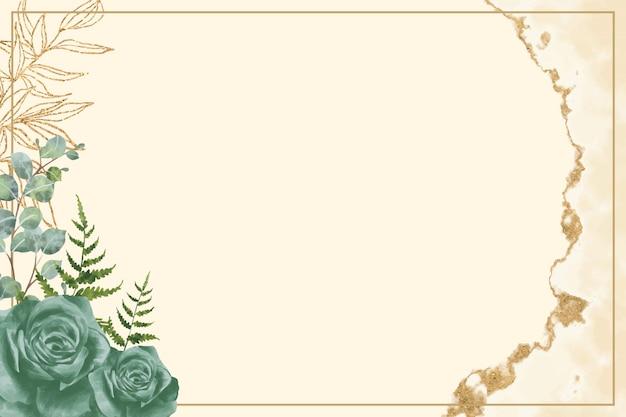 수채화 꽃 배경 파스텔 색상
