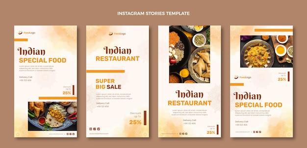 Акварельные рассказы о еде в instagram