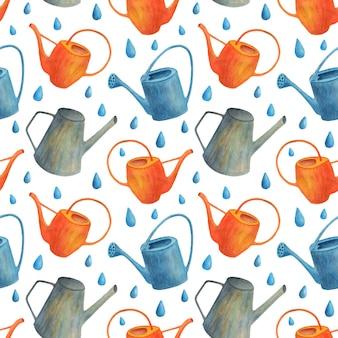 수채화 뜰을 만드는 완벽 한 패턴