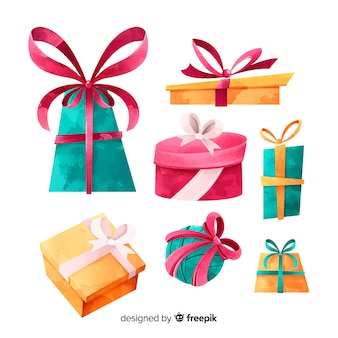 Watercolor gift collection