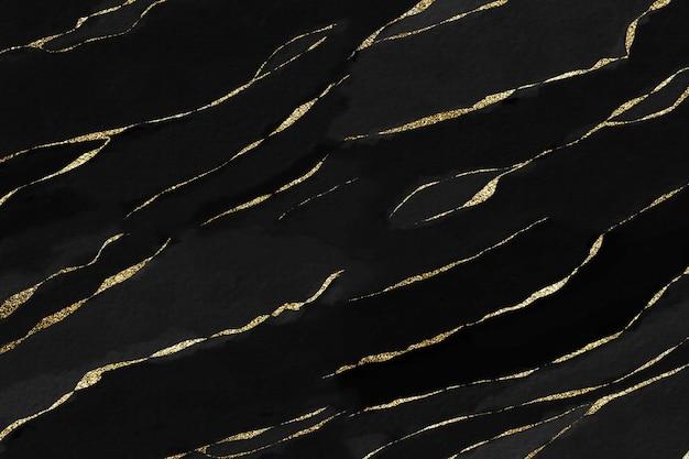 水彩キラキラ黒の背景
