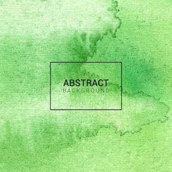 水彩の緑の抽象的な背景テクスチャ