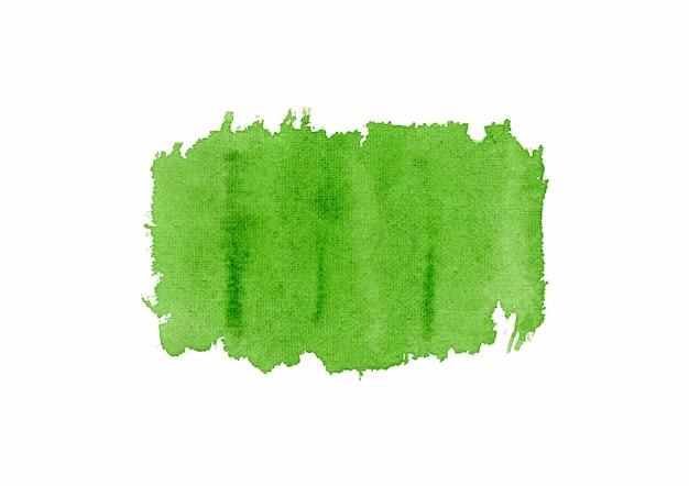 수채화 녹색 추상적 인 배경