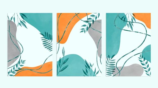 水彩手描きカバー