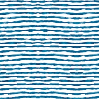 Watercolor horizontal lines shibori pattern