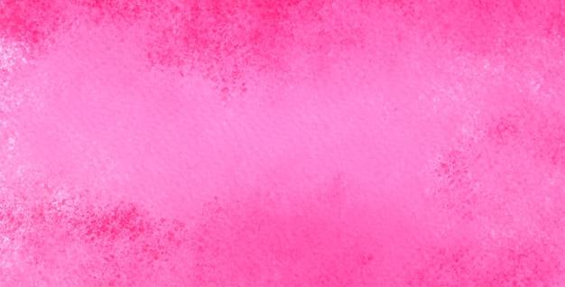 핑크 컬러의 수채화