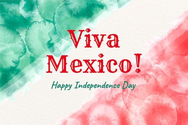 Акварель независимости мексики