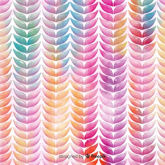 Watercolor knit pattern background