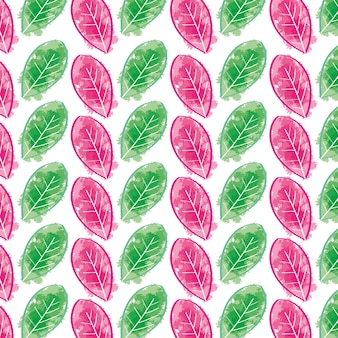 수채화 잎 페인트 bacground 아트