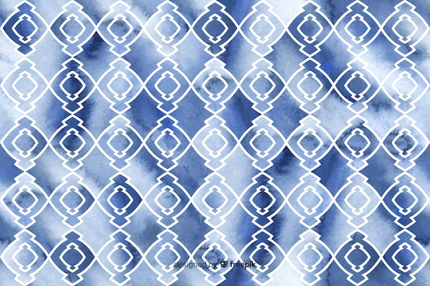 Watercolor mosaic background
