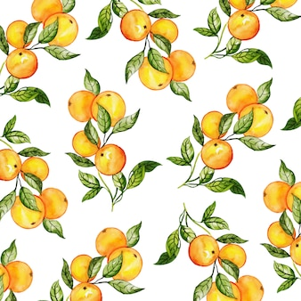 Watercolor new year pattern background