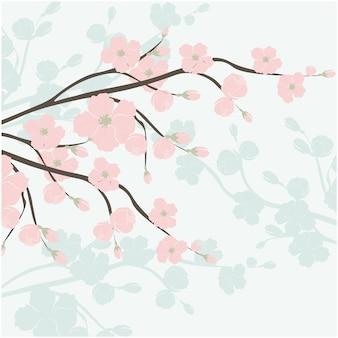 Watercolor ornamental background