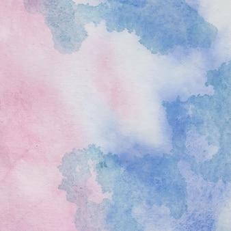 手描きの水彩パステル背景