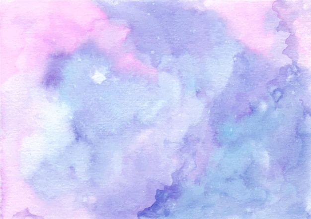 Watercolor pastel purple pink abstract texture background