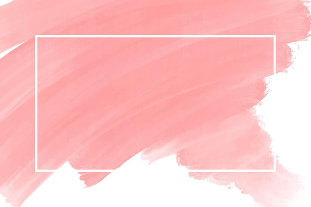 Watercolor peach abstract background