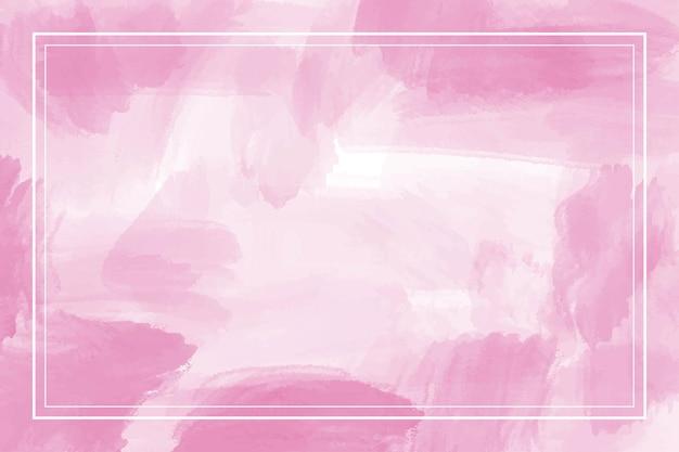 Акварель розовый абстрактный фон