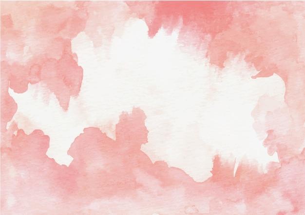 水彩ピンク抽象的なテクスチャ背景