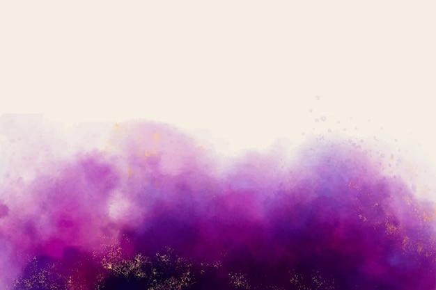 水彩紫の汚れの背景