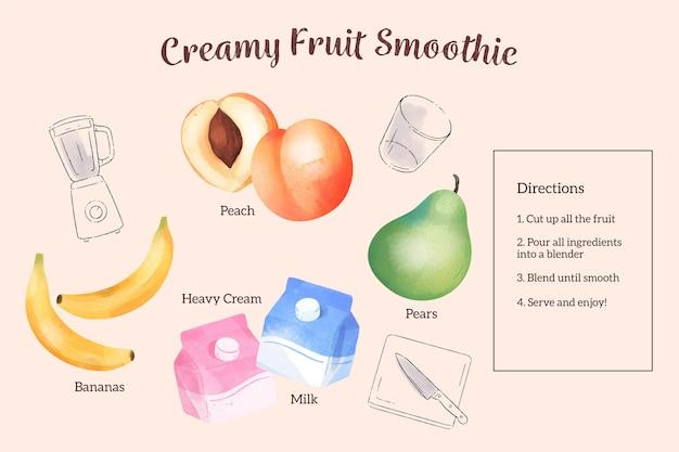 水彩レシピのコンセプト