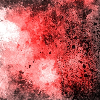Watercolor Red Grungy Backgorund Multipurpose