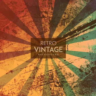Watercolor retro vintage background