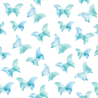 水彩シームレスパターン
