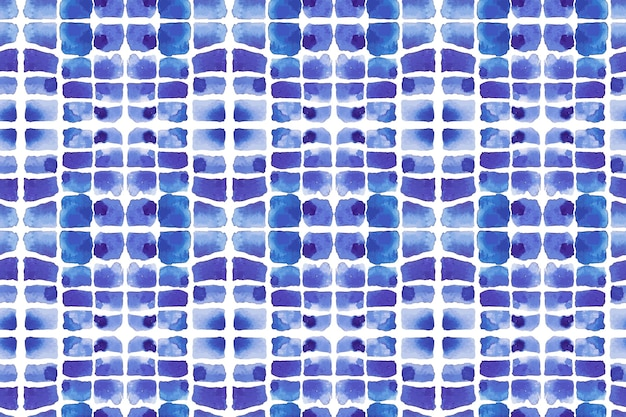 Watercolor shibori pattern fabric
