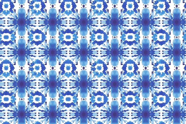 Watercolor shibori pattern texture
