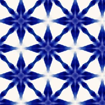 Watercolor shibori pattern