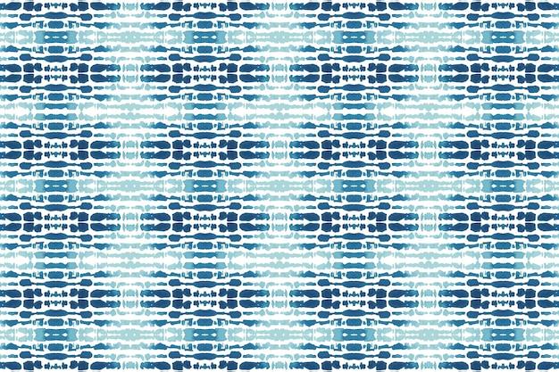 Watercolor shibori traditional pattern