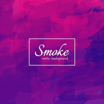 Watercolor smoke background