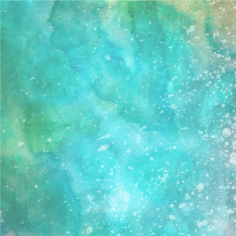 Watercolor Splatter Background