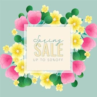 꽃 수채화 봄 판매
