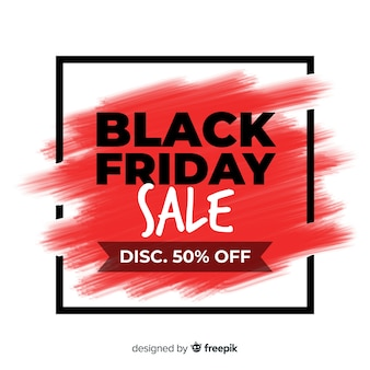 Watercolor stain black friday