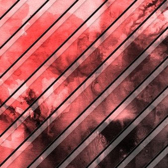 Watercolor stripes pattern background