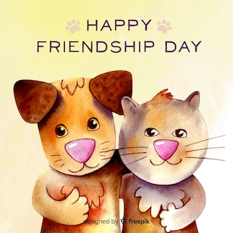 watercolor-style-friendship-day-backgrou