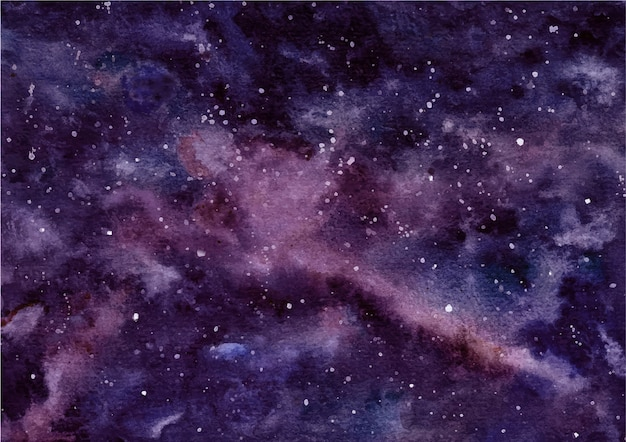 Watercolor texture abstract dark sky background