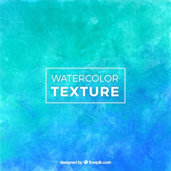 Watercolor texture in blue tones Free Vector