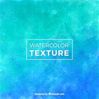 Watercolor texture in blue tones