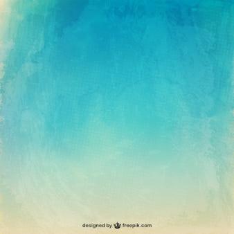 Watercolor texture in summer tones Free Vector
