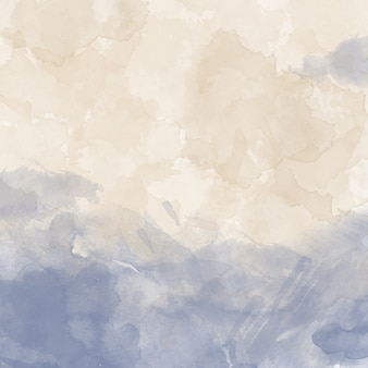 Watercolor texture with soft colors